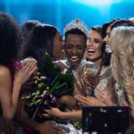 South Africa's first black Miss Universe uses platform to fight racism