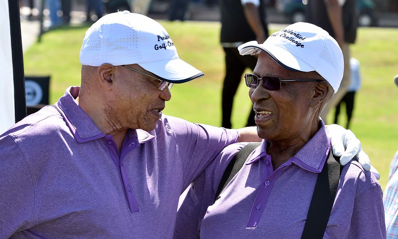 Gallery: Andrew Mlangeni and the game of golf