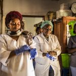 Congo health workers reduce coronavirus services in pay protest