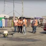 Tackling coronavirus with drones and phones