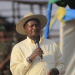 Uganda's Museveni picks up papers for re-election push