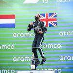 Record-breaking win and 156th podium finish Hamilton