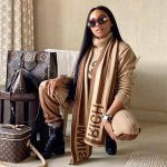 Queen B wears Rich Mnisi…