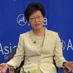HK's top leader piles up cash at home after U.S. sanctions