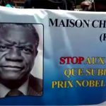 Thousands rally to support Congo's threatened Nobel Laureate