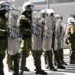 Greek police arrest 5 over Lesbos fire, migrants resist new camp