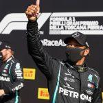 Hamilton and Mercedes spoil Ferrari's party