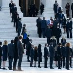 Chief Justice Roberts memorializes Ginsburg at U.S. Supreme Court