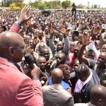 Thousands at church service with Kenyan deputy president