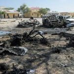 At least 20 killed by suicide car in Somalia