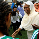 Woman on Sudan's ruling council quits