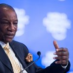 Guinea's Conde wins presidency with 59.5% of vote