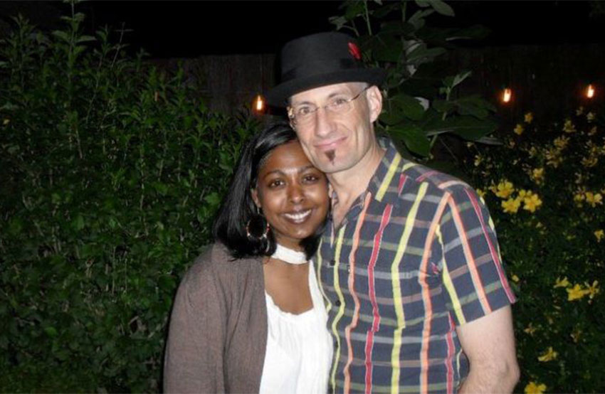 Anton Hammerl and wife Penny Sukhraj-Hammerl