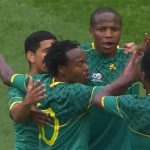 Bafana defeat Sao Tome 4-2 from Percy Tau late heroics