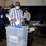 Burkina Faso president Kabore secures re-election, preliminary results show