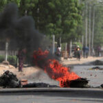 Chadian police fire tear gas at protesters