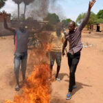 Gallery | Protests erupt in N'Djamena