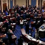 U.S. Senate honors police officer who protected lawmakers in riot