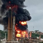 Seven injured after massive explosion at South African oil refinery in Durban