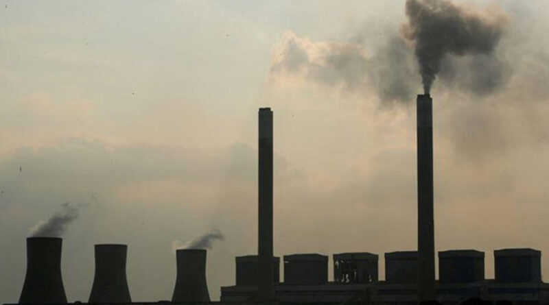 Smoke rises from the Duvha coal-based power station