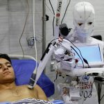Egyptian inventor trials robot that can test for COVID-19