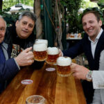 Europeans savour croissants and beers as cafes reopen