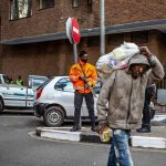 Homes to policing: Lockdown photos document South Africa inequality