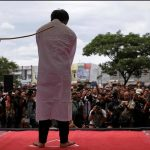 Indonesia's Aceh province publicly canes two gay men