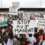 One killed as pre-election protests spread in Ivory Coast