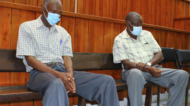 Kenyan police officers accused of the killing Alexander Monson