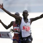 Kenya's Kandie smashes half marathon world record in Valencia
