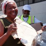 Trash for cash: South Africans fight hunger with digital currency