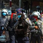 Myanmar police open fire, kill one protester