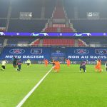 PSG and Istanbul Basaksehir players wear 'no to racism' t-shirts ahead of rescheduled game