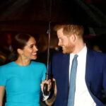 """Queen """"delighted"""", British royals celebrate Meghan and Harry's new baby"""