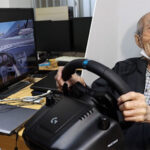 93-year-old finds passion in sim racing
