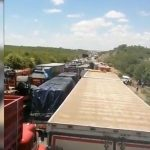 Humanitarian disaster at South Africa's borders on Christmas eve
