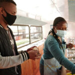 In South Africa, a zero-waste food bus hopes to drive away hunger