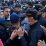 Hundreds of Tunisians protest about police abuse