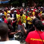 Protests by SA varsity students spreads