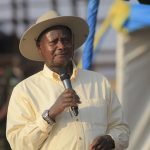 Uganda's Museveni warns off disruptors as he starts bid for another term