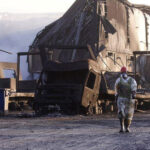 Fire caused environmental damage