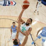 Nigeria out-hoops Argentina